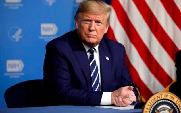 Presidente de Estados Unidos, Donald Trump. Foto:EFE