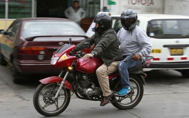 La alcaldesa explicó que la mayor parte de estos robos en moto se están registrando entre las 04:00 y las 06:00.