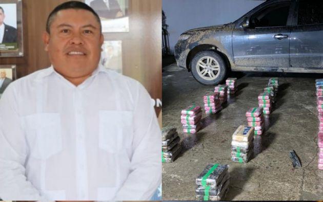 Erick Iván Martelo/ Drogas incautadas. Foto: Policía Nacional de Panamá