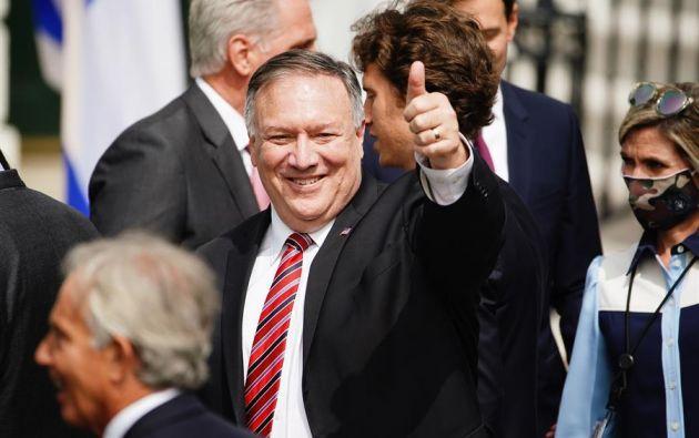 Secretario de Estado estadounidense, Mike Pompeo. Foto: EFE