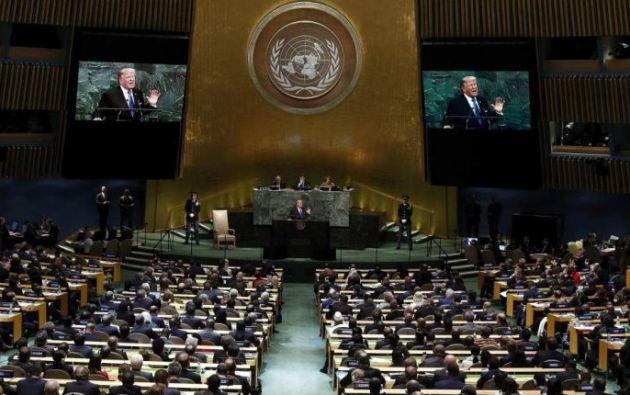 La Asamblea será de forma virtual y se espera a 119 jefes de Estado. Foto: EFE Asamblea del 2017