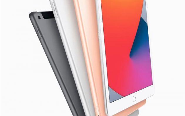 El nuvo iPad Air tiene unos marcos mucho más estrechos y una pantalla retina líquida más grande de 10,9 pulgadas. Foto: EFE.