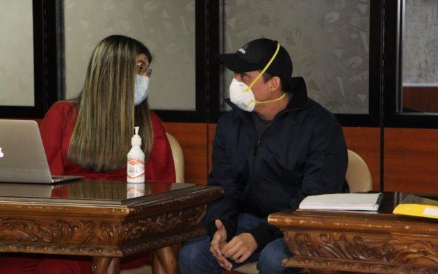 Daniel Mendoza, exasambleísta por Manabí, aseguró no haber filtrado la información y dijo desconocer el diagrama entregado a un medio de comunicación.