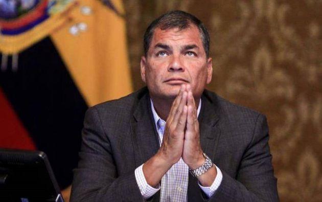 Hoy Correa está presente en la ausencia gracias a Internet y a las redes sociales. Foto: EFE.