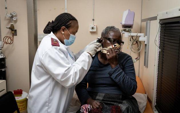 Los contagios parecen haberse ralentizado en África. Foto: EFE