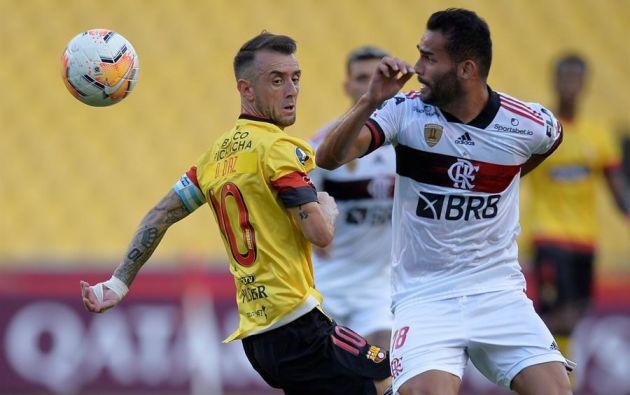Un jugador del Flamengo que fue titular ante el Barcelona SC dio positivo de COVID-19. Foto referencial: EFE