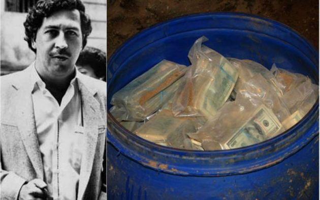 El hallazgo lo hizo Nicolás Escobar,  sobrino del exlíder del cartel de Medellín.