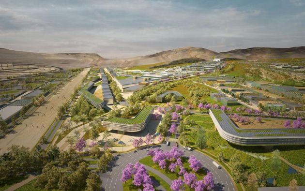 La industria es la que genera los empleos, y a partir de ahí se desarrolla la ciudad Bicentenario. Foto: EFE.
