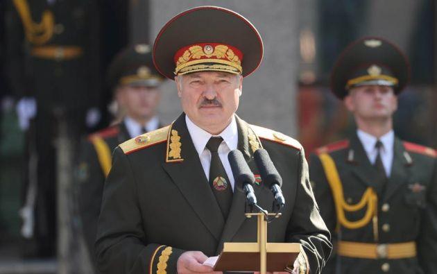 El presidente bielorruso, Alexandr Lukashenko, no ha aceptado el resultado de las urnas. Foto: EFE.