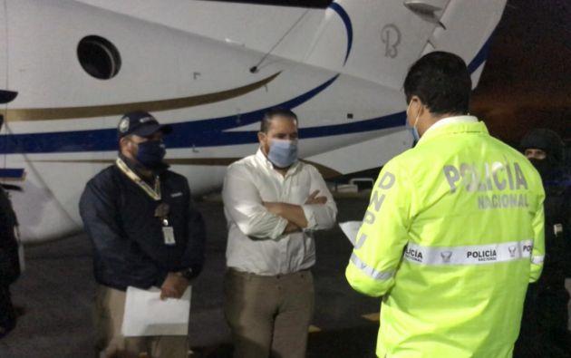 Jacobo Bucaram Pulley fue expulsado de Colombia para que enfrente en Ecuador los procesos judiciales en su contra.