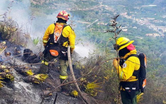 El Cuerpo de Bomberos recordó a la ciudadanía que está prohibida la quema de basura o restos agrícolas a cielo abierto.