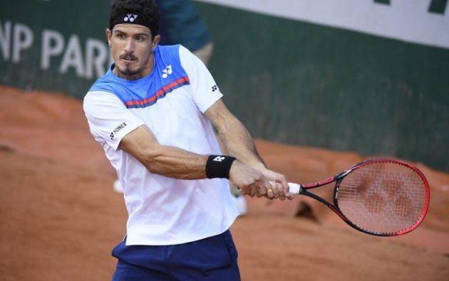 El tenista Emilio Gómez, 28 años.