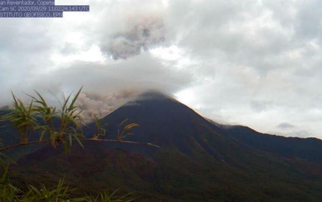 El Reventador está entre los volcanes más activos del país.