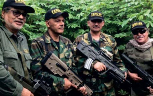Iván Márquez, El Paisa, Romaña y Jesús Santrich, líderes de la 'Segunda Marquetalia'.