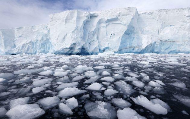 Deshielo de glaciares. Foto EFE/referencial