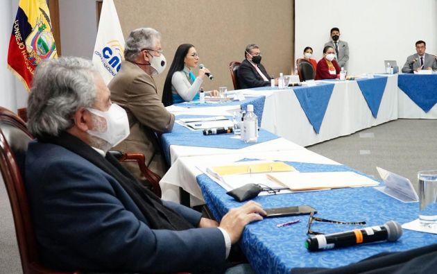 CNE continúa con la revisión de documentos para la inscripción de candidaturas.