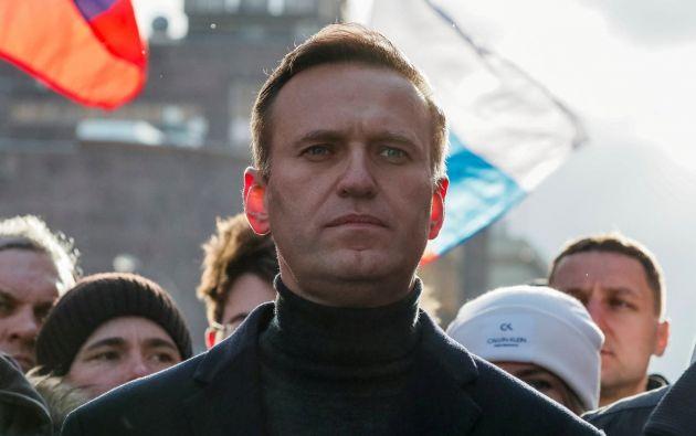Alexéi Navalni, 44 años. Foto: EFE
