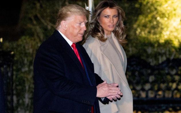 Trump y su esposa se hicieron la prueba después de que este jueves se conociese el positivo de una de las más cercanas asesoras del mandatario, Hope Hicks. Foto: EFE