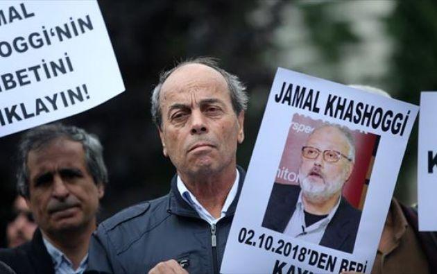 El periodista Jamal Khashoggi fue asesinado en el consulado saudí de Estambul. Foto: EFE