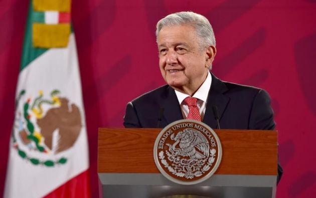 El presidente de México, Andrés Manuel López Obrador de 66 años. Foto:EFE