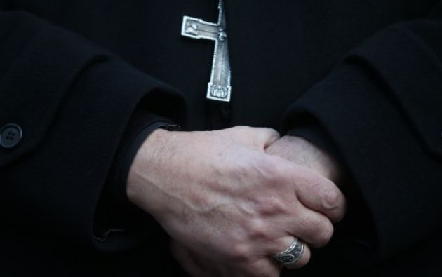 Gabriele Martinelli  está acusado de haber abusado presuntamente de un seminarista en 2012 dentro del preseminario San Pío X,. Foto: EFE