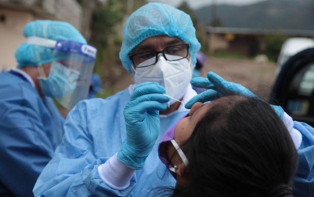 Las pruebas de diagnóstico son la forma más segura de comprobar la covid-19