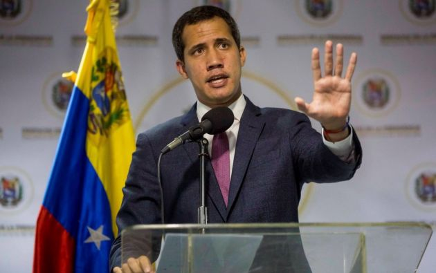 El líder opositor venezolano, Juan Guaidó. Foto: EFE