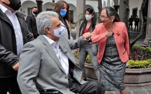 """""""Nosotros, por pedido de ustedes y como iniciativa del Gobierno Nacional dijimos: ¡vamos a cumplir con los jubilados!"""", aseguró Moreno."""