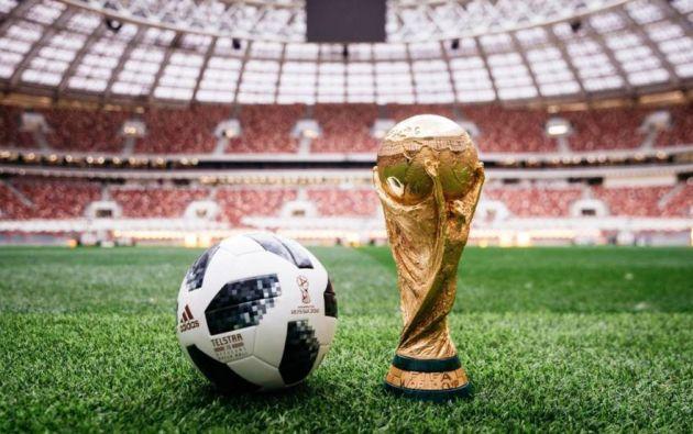 Copa del Mundo. Foto: FIFA