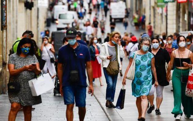 La cifra de contagiados en el mundo alcanzó los 35,5 millones. Foto: EFE