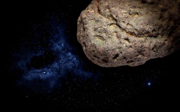 Imagen referencial del asteroide Apofis, descubierto en junio de 2004.