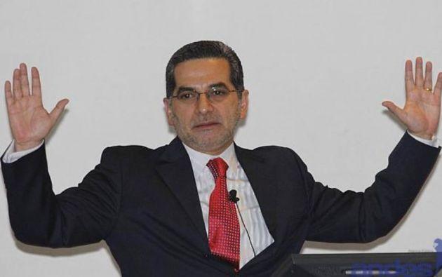 Fernando Alvarado fue ministro de Turismo y secretario nacional de Comunicación. A su cargo estuvo, entre otras, el manejo de las sabatinas.