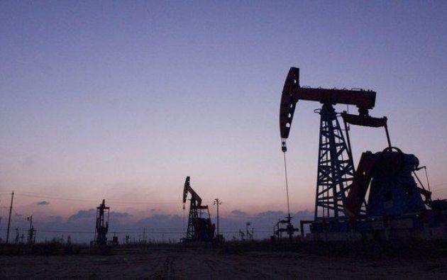 Pozos petroleros del yacimiento chino de Shengli. Foto: EFE