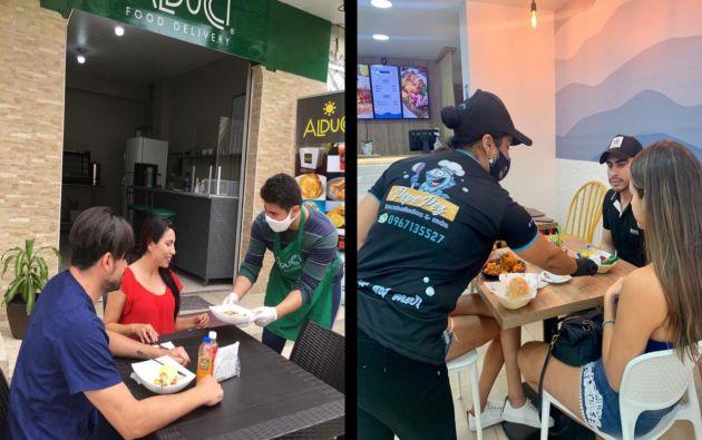 Alducci y Pepe Pez son dos de los más de mil nuevos negocios que abrieron en el último mes, según la Superintendencia de Compañías.