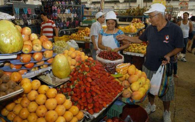 Mercado de la Caraguay. Foto: referencial/cortesía