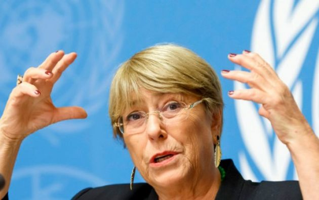 Michelle Bachelet.Foto: EFE