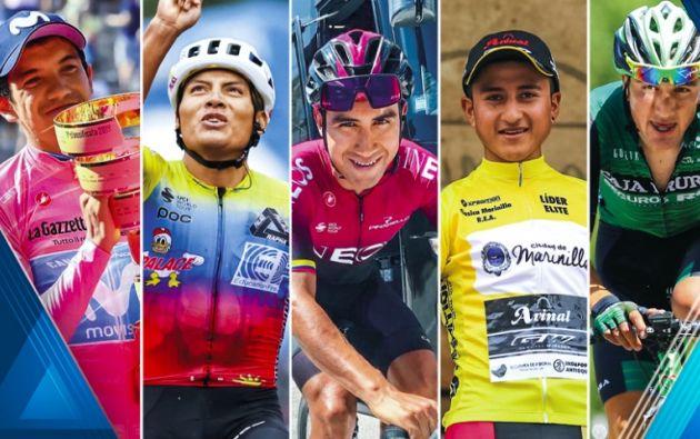 Richard Carapaz, Jonathan Caicedo y ahora Jhonatan Narváez están conquistando el Giro de Italia.