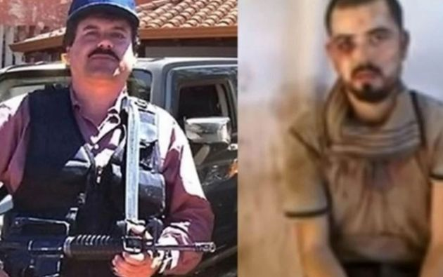 Israel Rincón Martínez, el Guacho, sicario del Cártel de los Beltrán Leyva.
