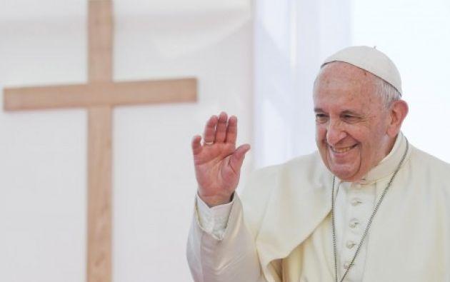 El papa Francisco. Foto: EFE.