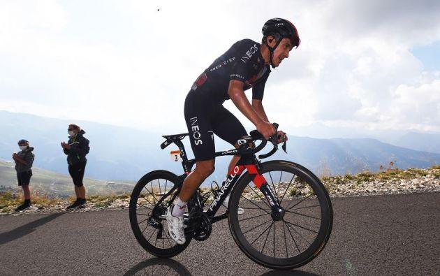 Richard Carapaz es el nuevo 'líder de la montaña' gracias a una brillante presentación en la ronda española.
