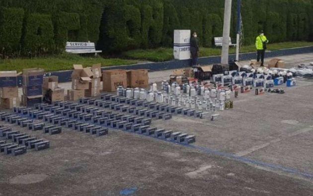El contrabando de implementos de bioseguridad se posiciona como el segundo más frecuentado en el Ecuador, superando al de ropa, electrodomésticos y alimentos. Aduanas indica que lo decomisado es entregado al Ministerio de Salud.