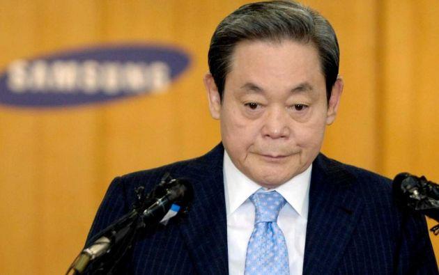 Lee Kun-hee, tercer hijo del fundador de Samsung, Lee Byung-chul, era la mayor fortuna de Corea del Sur con un neto calculado en más de 20.000 millones de dólares