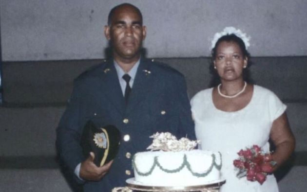 Foto de la boda de Úrsula y Ronaldo Francisco.