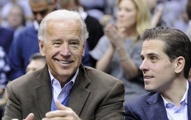 Joe y Hunter Biden.