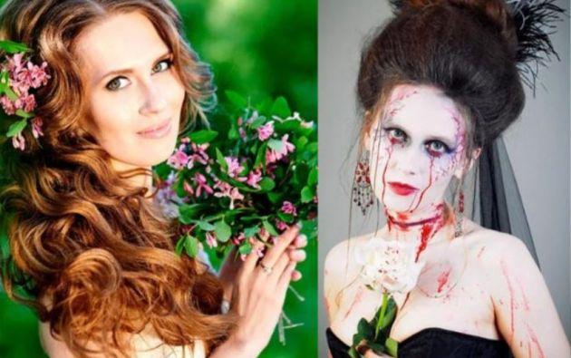 En su tiempo libre, Antontseva también se dedicaba al modelaje.