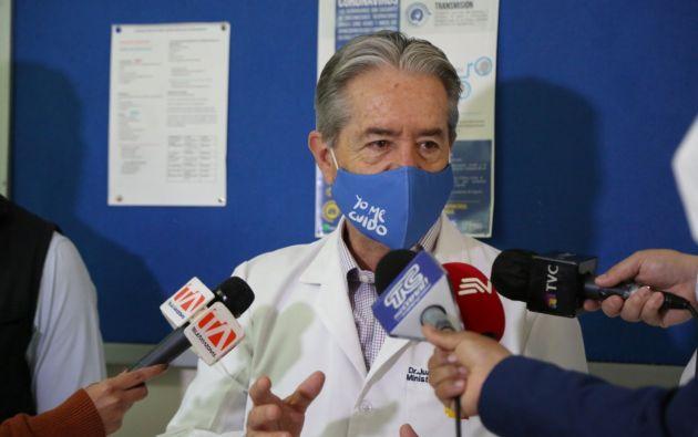 Juan Carlos Zevallos aclara declaraciones que causaron el rechazo de la Federación Médica Ecuatoriana.
