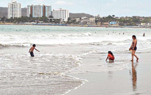 Las playas con restricción se ubican entre Engabao y Data de Villamil.