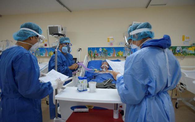 Pichincha tiene 58.042 casos positivos, 785 más que la víspera, seguido de la provincia de Guayas que acumula 21.965 enfermos del SARS-CoV-2. Foto: EFE