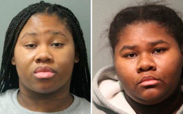 Jessica y Jayla Hill Foto: Departamento de policía de Chicago