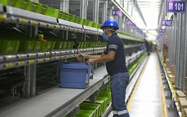 En el Centro de Distribución Especializado de Grupo DIFARE trabajan 320 personas. En un futuro la empresa podrá emplear a cerca de 450 trabajadores, operando en dos turnos de 10 horas. Foto cortesía.